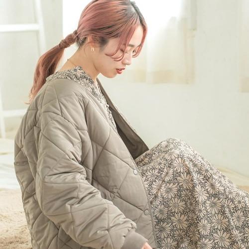 ナチュラルで可愛い【URBAN RESERCH】中綿キルティングジャケットが冬におすすめ!