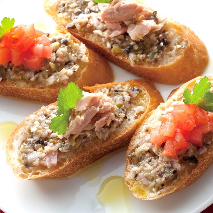 【チョッパーのレシピ】万能イタリアンソースをそのままのせるブルスケッタ