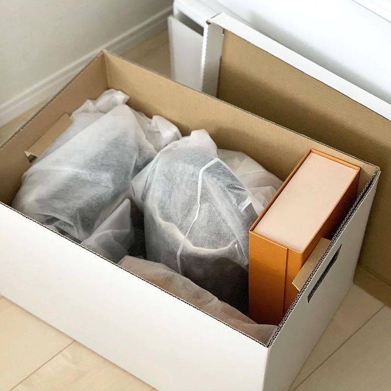 鞄の衣替えをしよう。ダイソーの衣類・小物収納袋をご紹介